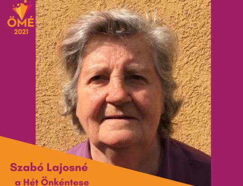 A Hét Önkéntese: Szabó Lajosné