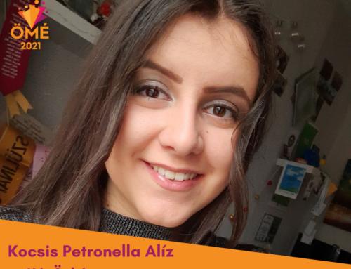 A Hét Önkéntese: Kocsis Petronella Alíz