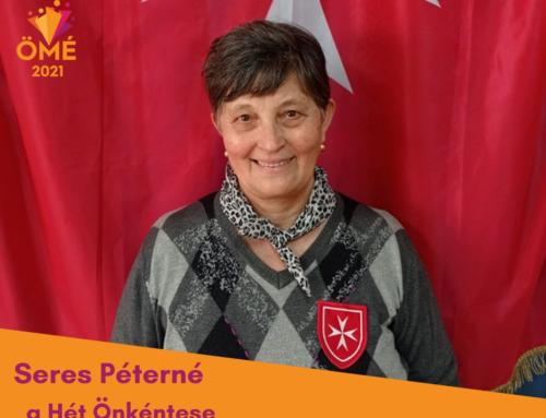 A Hét Önkéntese: Seres Péterné Magdi